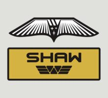 Dr. Elizabeth M. Shaw - Prometheus (Wings and Patch) Weyland Logo (CLEAN NEW LOOK) by James Ferguson - Darkinc1