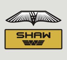 Dr. Elizabeth M. Shaw - Prometheus (Wings and Patch) Weyland Logo (CLEAN NEW LOOK) by James Ferguson - Darkinc1
