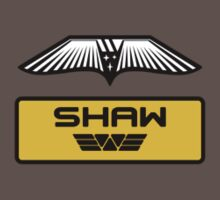 Dr. Elizabeth M. Shaw - Prometheus (Wings and Patch) Weyland Logo (CLEAN NEW LOOK SIDE) by James Ferguson - Darkinc1