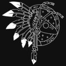 Adam and the Ants - Adam Ant - Ant Music For Net People (White on Black) by James Ferguson - Darkinc1
