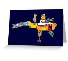 Yellow Submarine (sea of monsters) Greeting Card