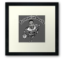 Tezmanian Devils - Workaholics  Framed Print