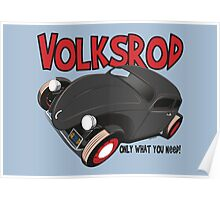 Volksrod VW Beetle Poster