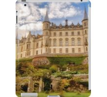 Dunrobin Castle at Sunset (Golspie, Sutherland, Scotland) iPad Case/Skin