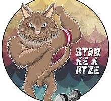 """Die starke Katze"" -  Super Cat! by ideasinacan"