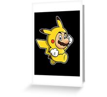 Pika Suit Greeting Card