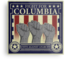 Fight for Columbia Metal Print