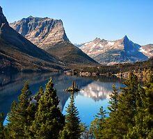 St Mary's Lake, Glacier National Park, MT by Susan Kaufman