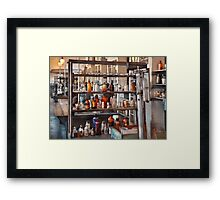 Chemist - Where science comes from Framed Print