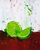 Zesting a Lime by ebuchmann
