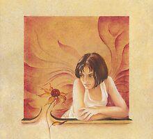 """""""Flower"""" from the series """"Everyday Angel""""  by Anna Ewa Miarczynska"""