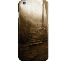 Mountain Steps (Holga) iPhone Case/Skin