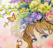 Spring Goddess Sticker