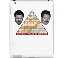 Ron Swanson Pyramid Of Greatness iPad Case/Skin