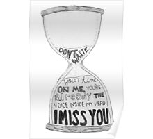 I Miss You - Blink 182 (2) Poster