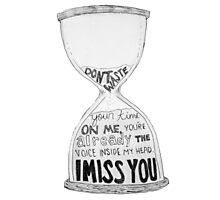 I Miss You - Blink 182 (2) Photographic Print