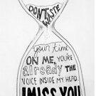 I Miss You - Blink 182 (2) by shoshgoodman