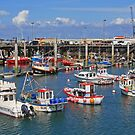 Fishing Boats, St Peter Port by RedHillDigital