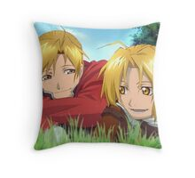 The Elric brothers Throw Pillow