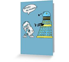 are you my mummy? (sketch) Greeting Card