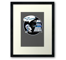 Are you my mummy? - Second version Framed Print