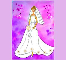 Pretty bride inspired by Barbie by JoAnnFineArt