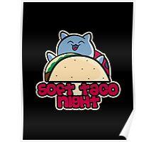 Soft Taco Night Poster