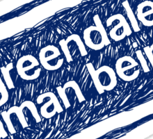 Greendale Human Beings Sticker
