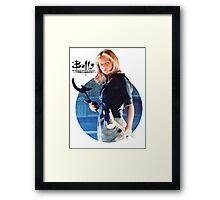 I'm Buffy...the Vampire Slayer Framed Print