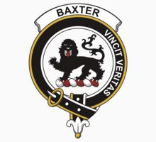 Baxter Clan Badge by coatsofarms