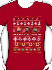 Magical Ugly Christmas Sweater + Card T-Shirt