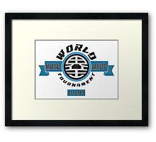The World Tournament Fancy Framed Print