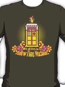 Yellow Time Machine 2014 T-Shirt