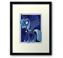 Cosmic Princess Luna (Version 1/4) Framed Print