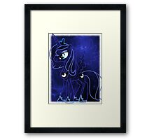 Cosmic Princess Luna (Version 4/4) Framed Print
