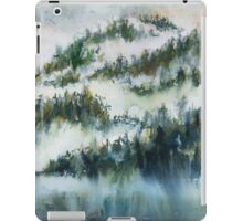 Trees in the Mist iPad Case/Skin