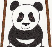 Pete the Panda Bear Art by misadventureart