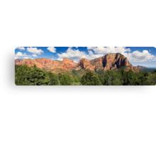 Kolob Canyons Panorama - Zion National Park, Utah Canvas Print