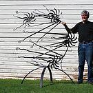 David Sherlock - Blacksmith 'Shooting stars' by Julie Sherlock