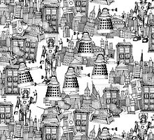Doctor Who Toile by jaredmunson