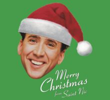 Merry Christmas from St Nic-olas Cage by glucern