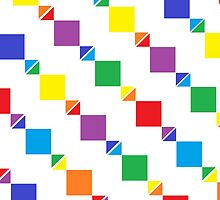 Rainbows, Triangles, and Squares!  by Hayden Shepherd