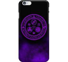 Hero's Mark (Purple) iPhone Case/Skin