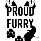 PROUD FURRY  -clear tips- by 8Bit-Paws