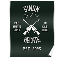 Sinon Hecate (White) Poster