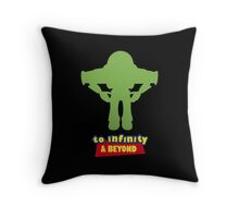 Buzz Lightyear: To Infinity & Beyond - Coloured Throw Pillow