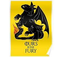 Ours is the night fury Poster