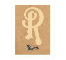 2012 railroad revivalist Art Print