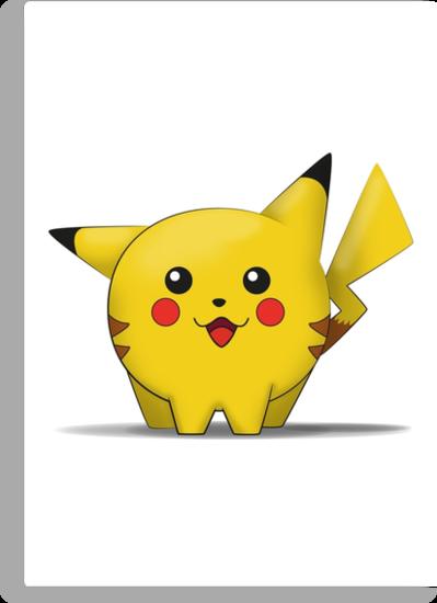 Pikachu by EF Fandom Design