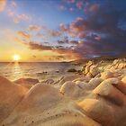 Sunrise over Diaporos island by Ivo Velinov
